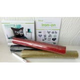 Cricut Iron-On Starter Kit inc 4 Glitter Iron On Sheets,Tool &,Images   20-03672